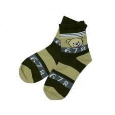 Chaseup Lycra Children Socks Brown