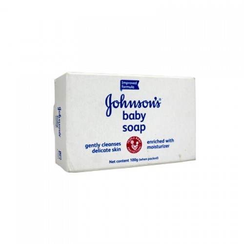 Johnsons Cleanses Gently Baby Soap 100gm (UB)
