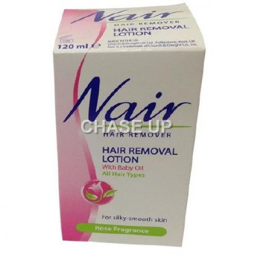 Nair Rose For Silky Smooth Hair Removing Lotion Jar 120ml (K)