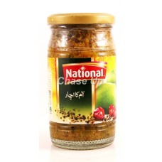 National Mango Pickle Bottle 320gm