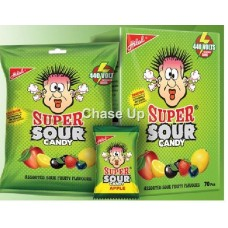 Hilal Super Sour Candy Pouch 220gm