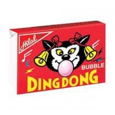 Hilal Ding Dong Strawberry Bubble Gum Jumbo Box 176.4gm
