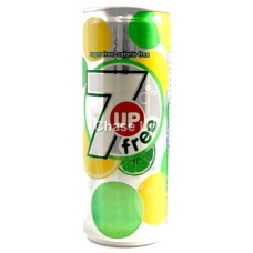 Pepsi 7up Free Slim Soft Drink Can 250ml