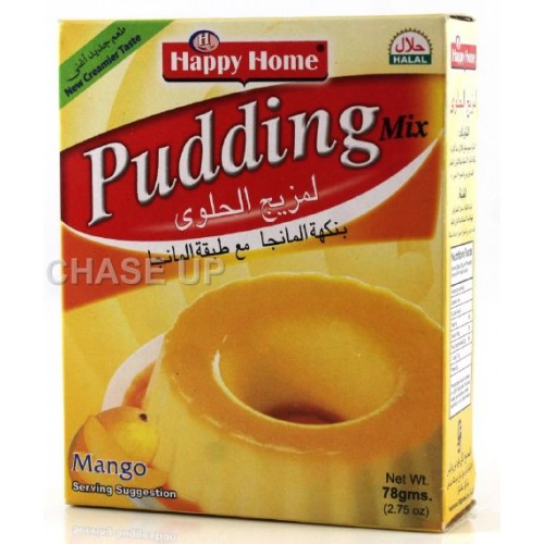 Happy Home Mango Pudding Mix 78gm