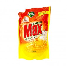 Lemon Max D/W Liquid Pouch 450Ml