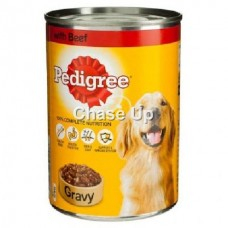 Pedigree Beef Dog Food Tin 400gm