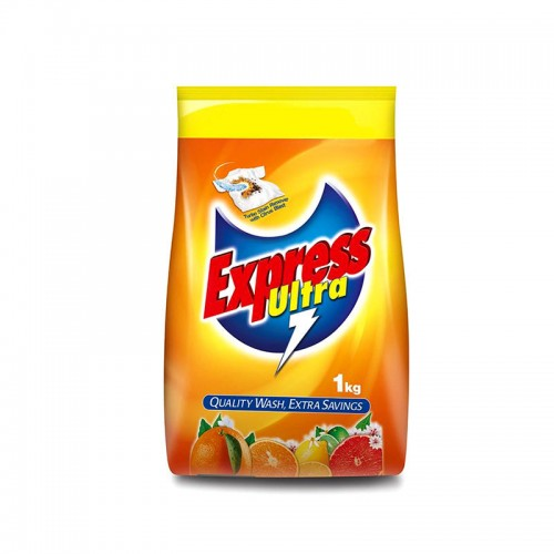Express Power Ultra Clean Washing Powder Poly Bag 1kg