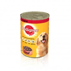 Pedigree Loaf Dog Food Tin 400gm