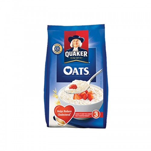 Quaker White Oats Porridge Cereal Pouch 200gm
