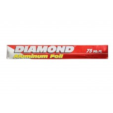 Diamond Aluminium Foil 75 Sq.ft