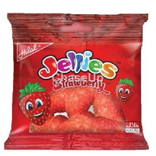 Hilal Fruities Strawberry Jelly Box Large 24pcs
