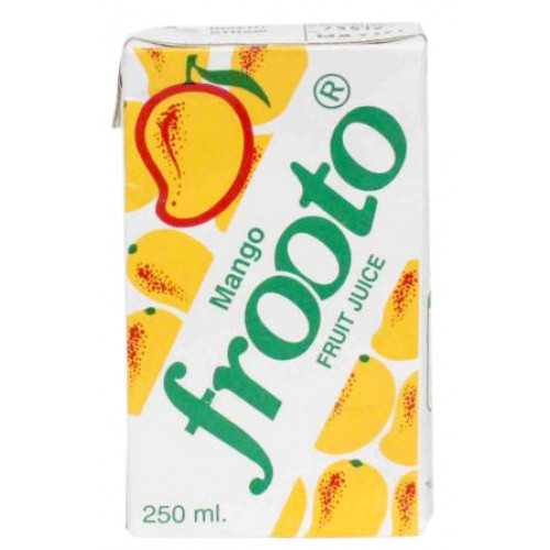 Frooto Mango Juice Tetra Pack 250ml