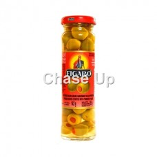 Figaro Stuffed Green Olives 575gm
