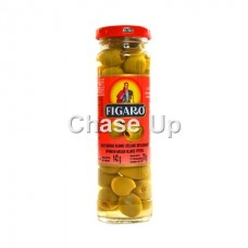 Figaro Pitted Green Olives 454gm