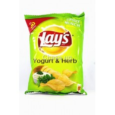 Lays Yogurt & Herbs Chips 27gm