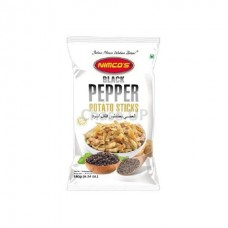 Nimcos Black Pepper Potato Sticks Pouch 180gm
