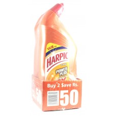 Harpic Power Plus Orange Toilet Cleaner 1ltr 2pcs PK