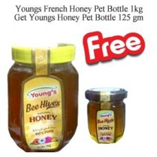 Youngs French Honey Pet Bottle 1kg