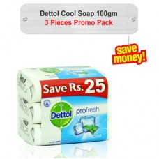 Dettol Cool Soap Promo Pack 100gm 3pcs
