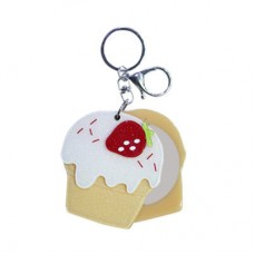 Chaseup Acrylic Key Chain Icecream Strawbery