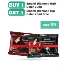 Emami Diamond Shine Hair Color 3.0 20gm/20ml