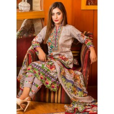 Ruqayyah Beautiful You Lawn Designer Suit 3A