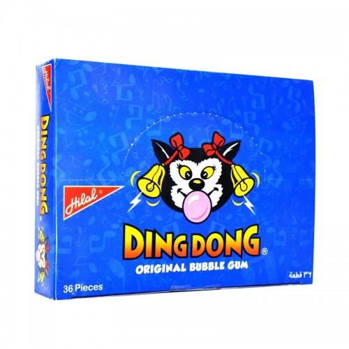 Hilal Ding Dong Jumbo Bubble Gum Box 36pcs