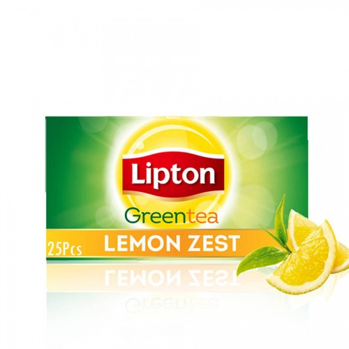Lipton Lemon Green Tea T/B 25pcs