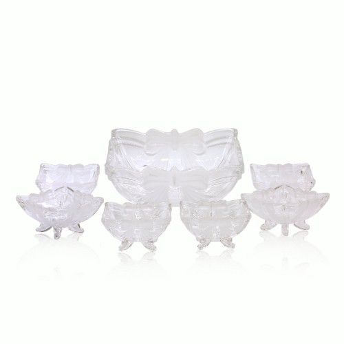 Taihao Crystal Frosted Fruit Set 7pcs TP9104R