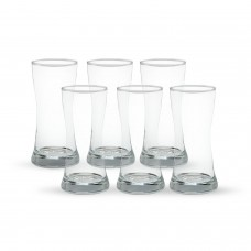 Home Pride Crystal Glass Set 6pcs F