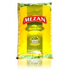 Mezan Canola Cooking Oil Pouch 1ltr