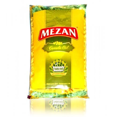 Mezan Canola Cooking Oil Pouch 1ltr