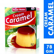 Happy Home Caramel Pudding Mix 78gm