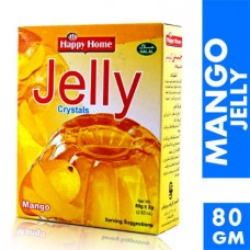 Happy Home Crystal Mango Jelly Mix 80gm