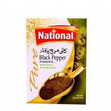 National Black Pepper Powder Spices 25gm