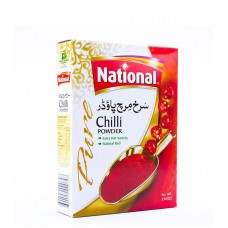 National Red Chilli Powder Spices 200gm
