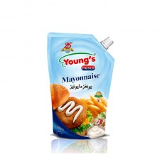Youngs French Mayonnaise Pouch 200ml