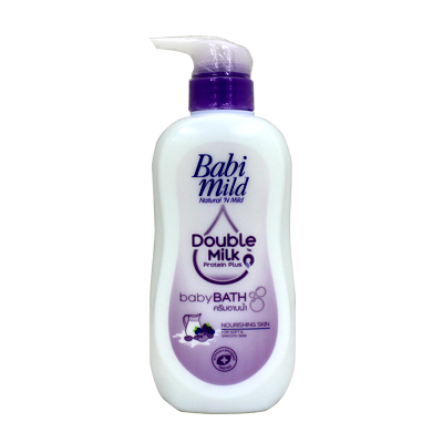 Babi Mild Double Milk Protein Baby Bath 500ml