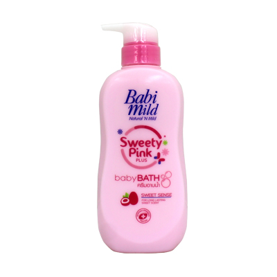 Babi Mild Sweety Pink Baby Bath 500ml