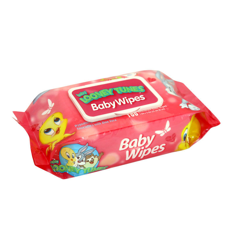 Looney Tunes Baby Wipes 100pcs (CH)