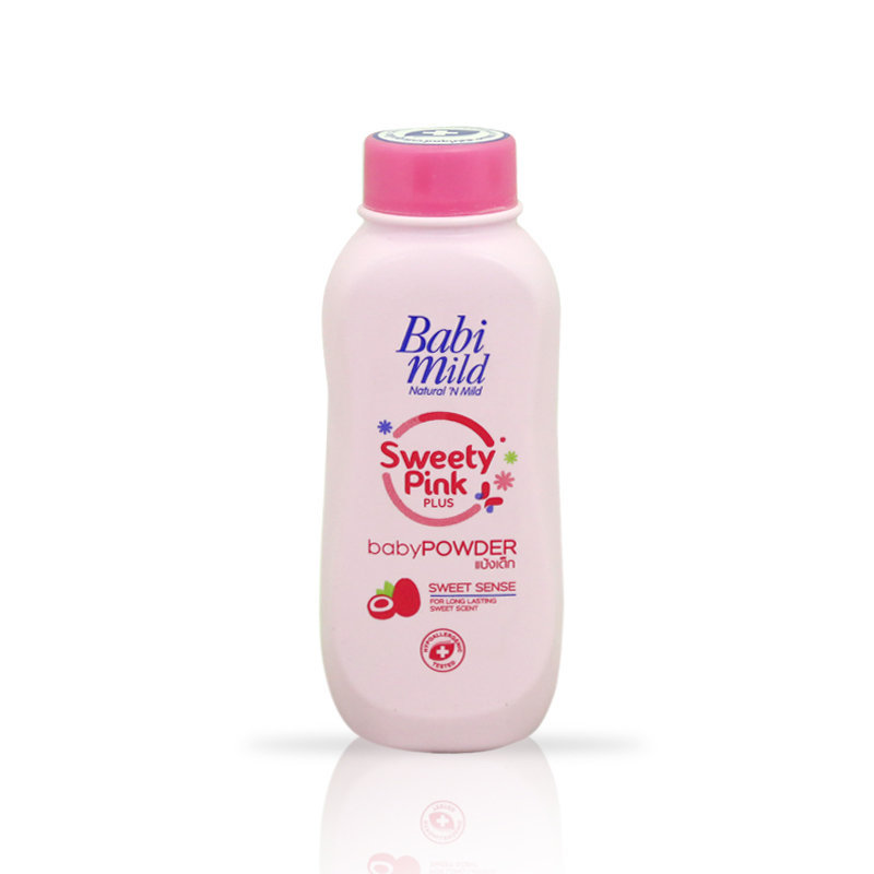 Babi Mild Sweety Pink Baby Powder 180gm
