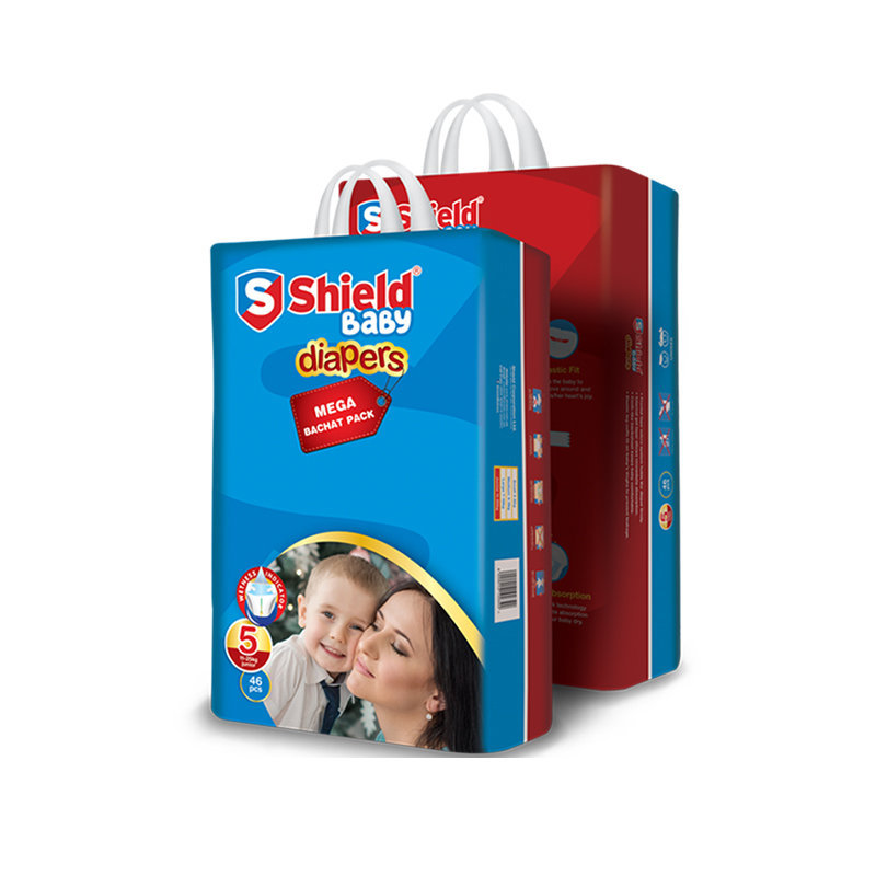 Shield Baby Diapers Medium 62pcs