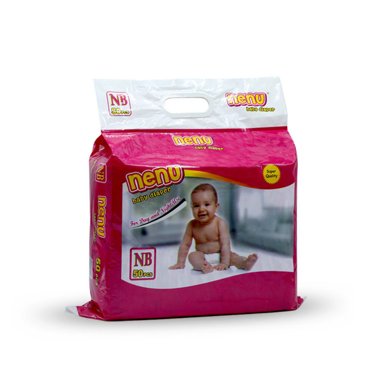 Nenu Baby Diapers New Born 50pcs