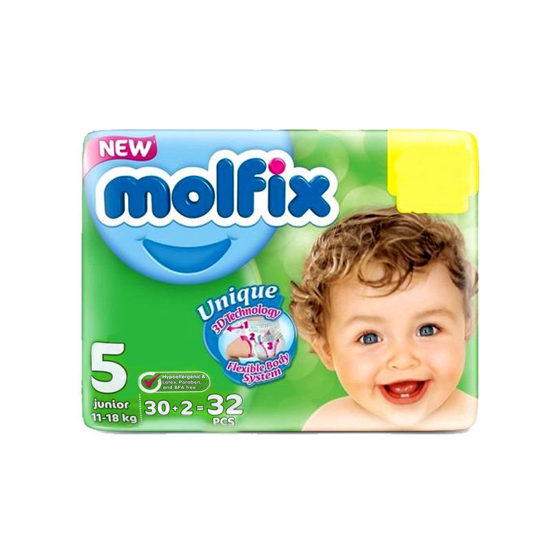 Molfix Baby Diapers 5 Junior 30pcs