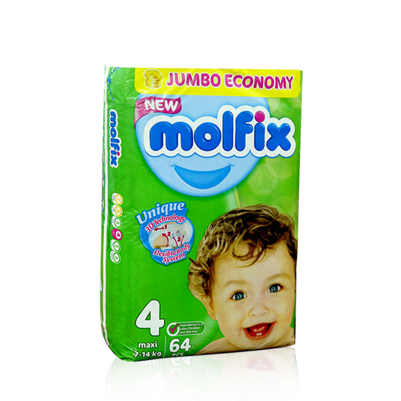 Molfix Baby Diapers 4 Maxi 64pcs