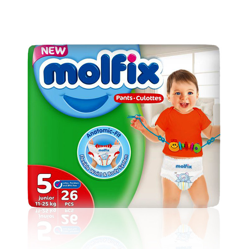 Molfix Baby Pants 5 Junior 26pcs