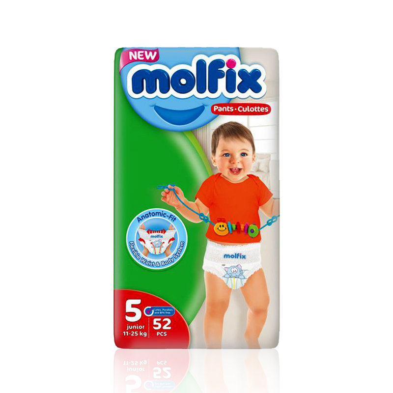 Molfix Baby Pants 5 Junior 52pcs