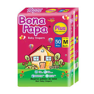 Bona Papa Baby Diapers Medium 50pcs