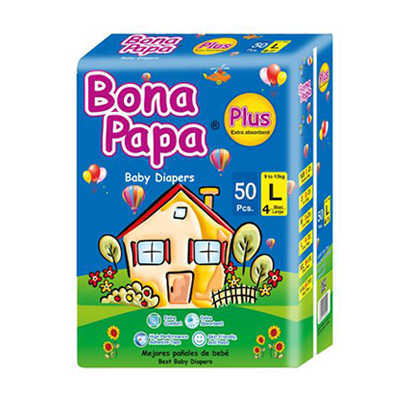 Bona Papa Baby Diapers Large 50pcs