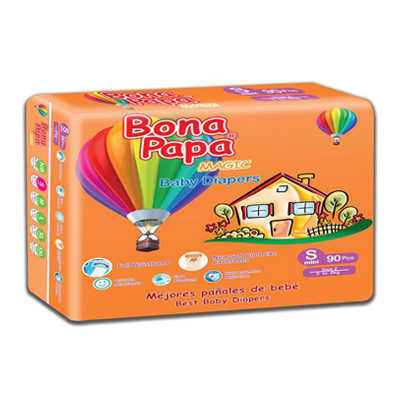 Bona Papa Baby Diapers Small 90pcs